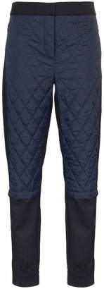 Tibi quilted jogger trousers