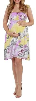 24/7 Comfort Apparel Andrea Maternity Dress