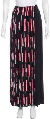 Prada Pleated Maxi Skirt