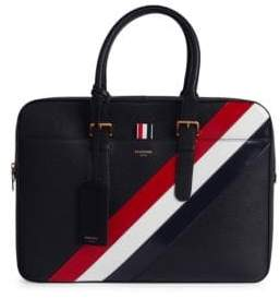 Thom Browne Business Leather Briefcase