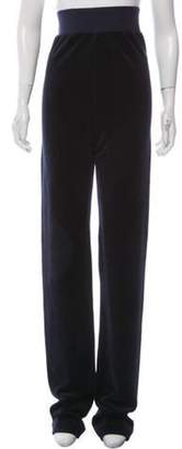 Juicy Couture Vetements x High-Rise Straight-Leg Pants Navy Vetements x High-Rise Straight-Leg Pants