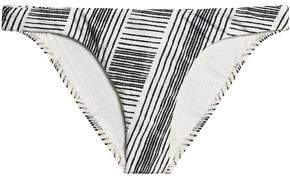 Vix Paula Hermanny Printed Low-Rise Bikini Briefs