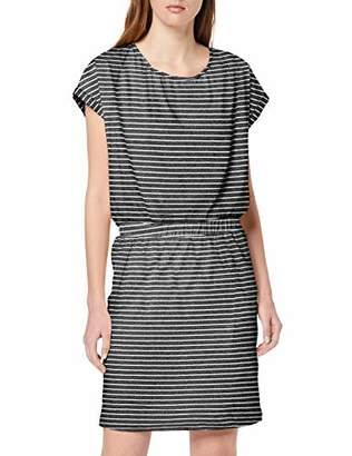 Ichi Women's Ihmoto Ss Dr2 Dress, (Small Stripe Mazarine Blue 14027), X