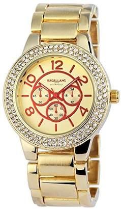 Excellanc Women's Quartz Watch with different materials 152804000025