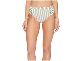 Splendid Picturesque High-Waist Bikini Bottom Women's Swimwear