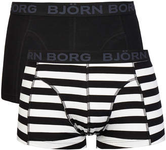 Bjorn Borg Pool Side Black 2 Pack Trunks