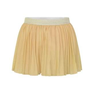 Kate Mack Kate MackGirls Gold Pleated Skirt