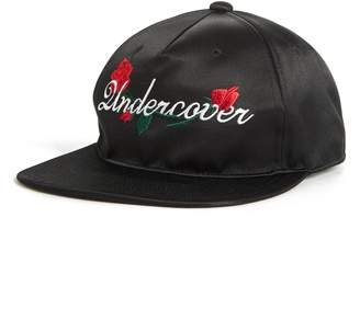 Undercover Rose Embroidered Logo Cap