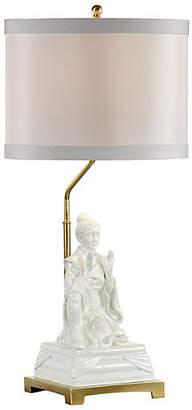 Gardenia Kiki Empress Table Lamp White - Wildwood