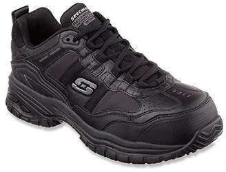 Skechers for Work Men's Soft Stride Grinnel Slip Resistant Work Shoe