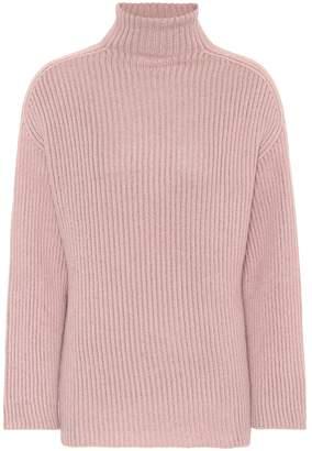Agnona Cashmere-blend turtleneck sweater