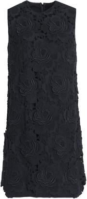 Dolce & Gabbana (ドルチェ & ガッバーナ) - ドルチェ & ガッバーナ 装飾付き カシミヤ&コットン混 ツイル ミニワンピース