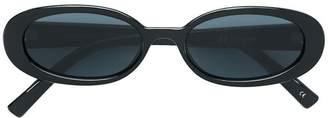 Le Specs oval sunglasses