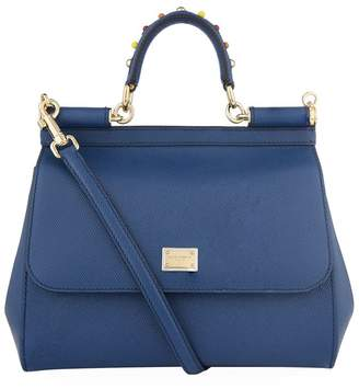 78a93c74e9 Dolce   Gabbana Blue Top Handle Bags For Women - ShopStyle UK