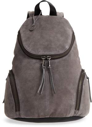 John Varvatos Brooklyn Suede Backpack