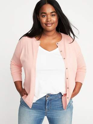 Old Navy Classic Plus-Size Button-Front Cardi