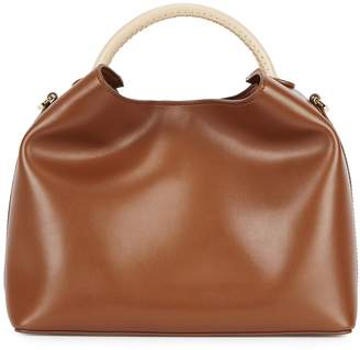Elleme ELLEME Raisin Brown Leather Shoulder Bag