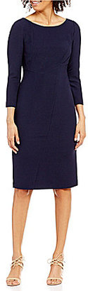 Antonio Melani Isolde Stretch Ottoman Sheath Dress $159 thestylecure.com
