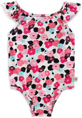 Kate Spade Girls' Blooming Floral Swimsuit