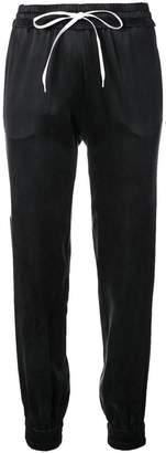 Amiri high-waisted track pants