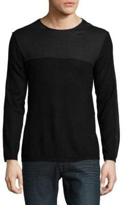Karl Lagerfeld Contrast Sweater