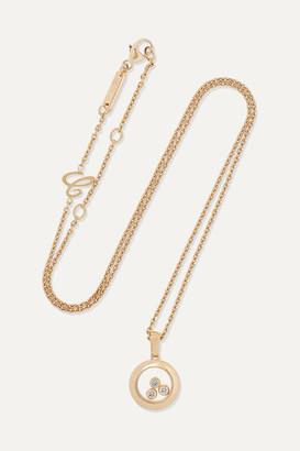 Chopard Net Sustain Happy Diamonds 18-karat Gold Diamond Necklace