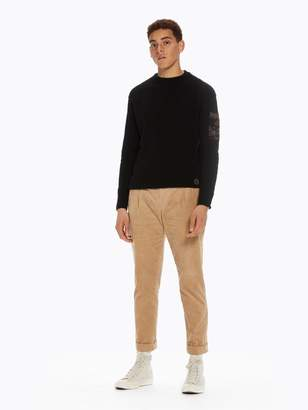 Scotch & Soda Pleated Corduroy Trousers Loose tapered fit