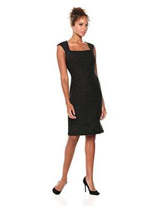 Eliza J Women's Extended Cap Sleeve Sheath Dress