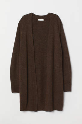 H&M Long Cardigan - Brown