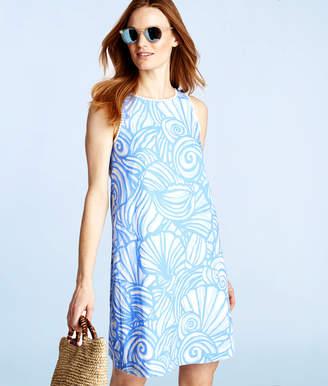 Vineyard Vines Nautilus Shell Print Swing Dress