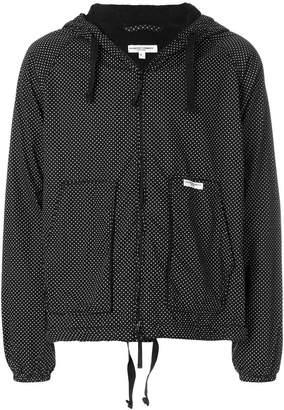 Engineered Garments hooded polka dot jacket
