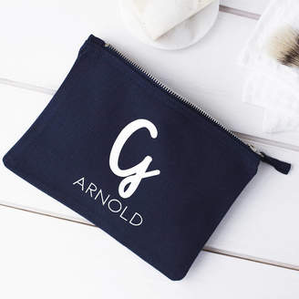 Clouds and Currents Personalised Mens Wash Bag 437b0c514edcb