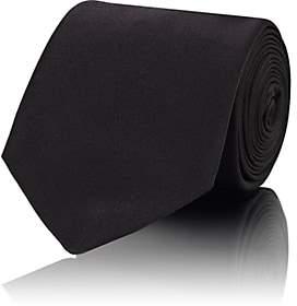 Gucci Men's Solid Silk Satin Necktie - Black