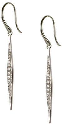 Tag Heuer FINE JEWELLERY 0.25 Total Carat Weight Diamond with 14K White Gold Drop Earrings