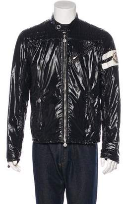 Moncler Lightweight Striped-Accent Jacket