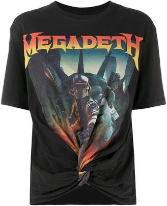 R 13 Megadeth Tシャツ