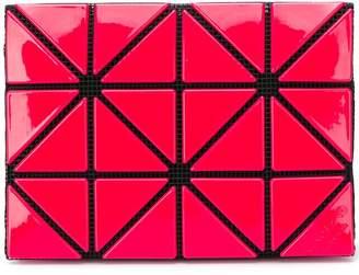Bao Bao Issey Miyake geometric pattern purse