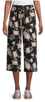 Kensie Floral Wide-Leg Pants