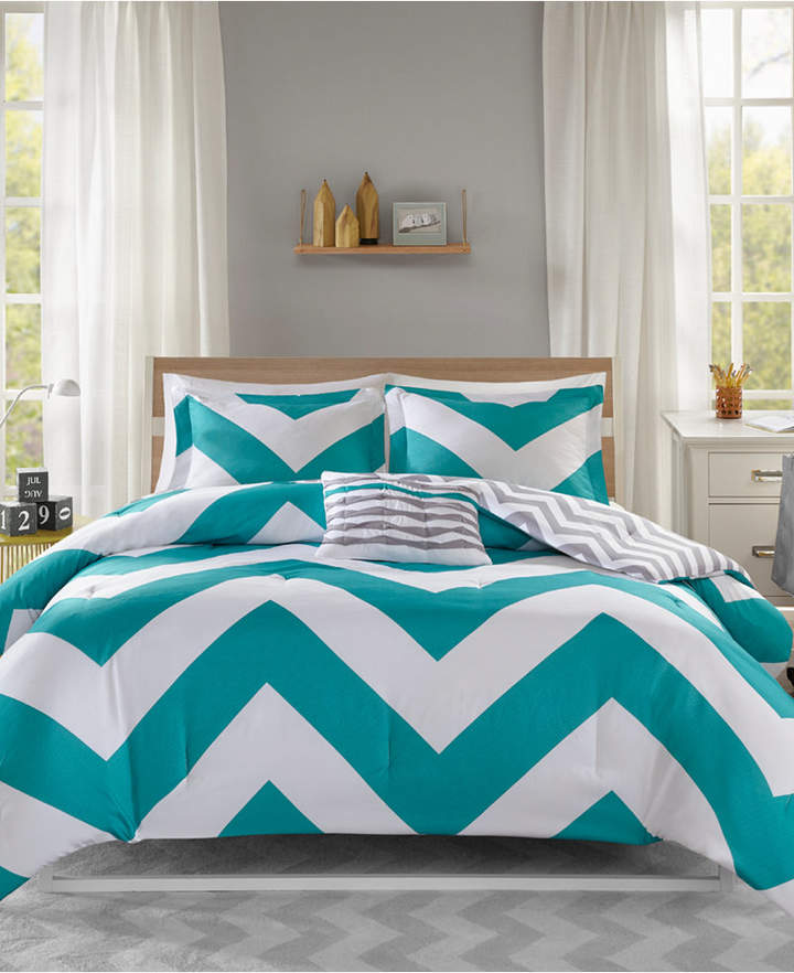 Mi Zone Libra Reversible 4-Pc. King/California King Comforter Set Bedding