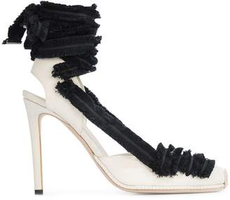Altuzarra lace up heeled espadrilles