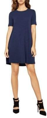 BCBGeneration Ribbed Knit A-Line Dress