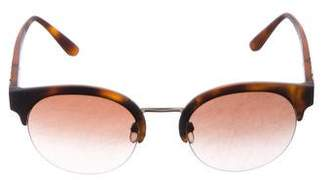 Burberry Gradient Wayfarer Sunglasses