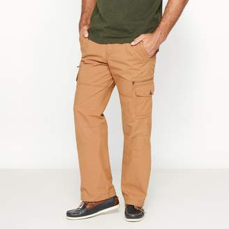 CASTALUNA MEN'S BIG & TALL Sporty Cotton Cargo Trousers