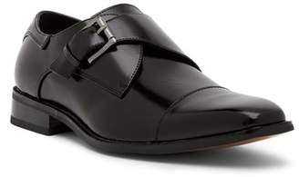 Stacy Adams Bennett Monk Strap Leather Loafer