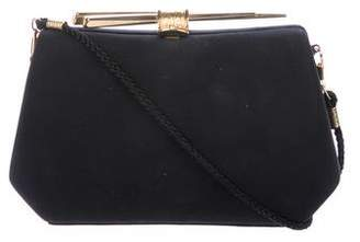 Herve Leger Chopsticks Box Clutch