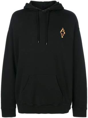 Marcelo Burlon County of Milan fire cross oversized hoodie