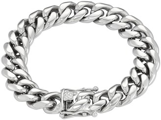 Men's Stainless Steel Curb Chain Bracelet