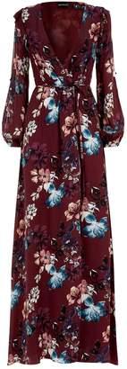 Nicholas Floral Wrap Dress