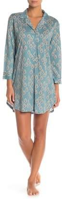 Natori Printed Shawl Pajama