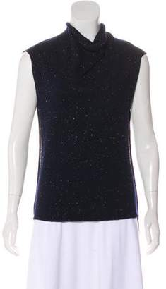Roland Mouret Speckled Wool Top